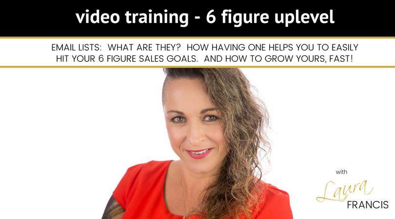 6 FIGURE UPLEVEL VIDEO TRAINING GRAPHIC